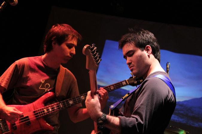 Jose Luis Ramos en Christian Claveria (photo by Felipe Aquilera)