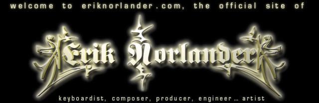 Klik op de banner voor de website van Erik Norlander