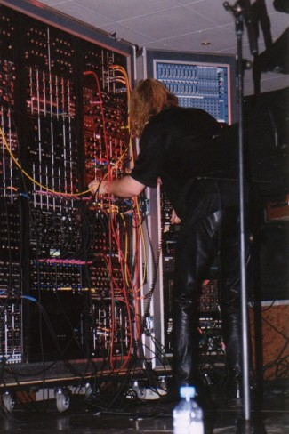 Erik Norlander Wall Of Doom 2004 (foto Henri Strik)